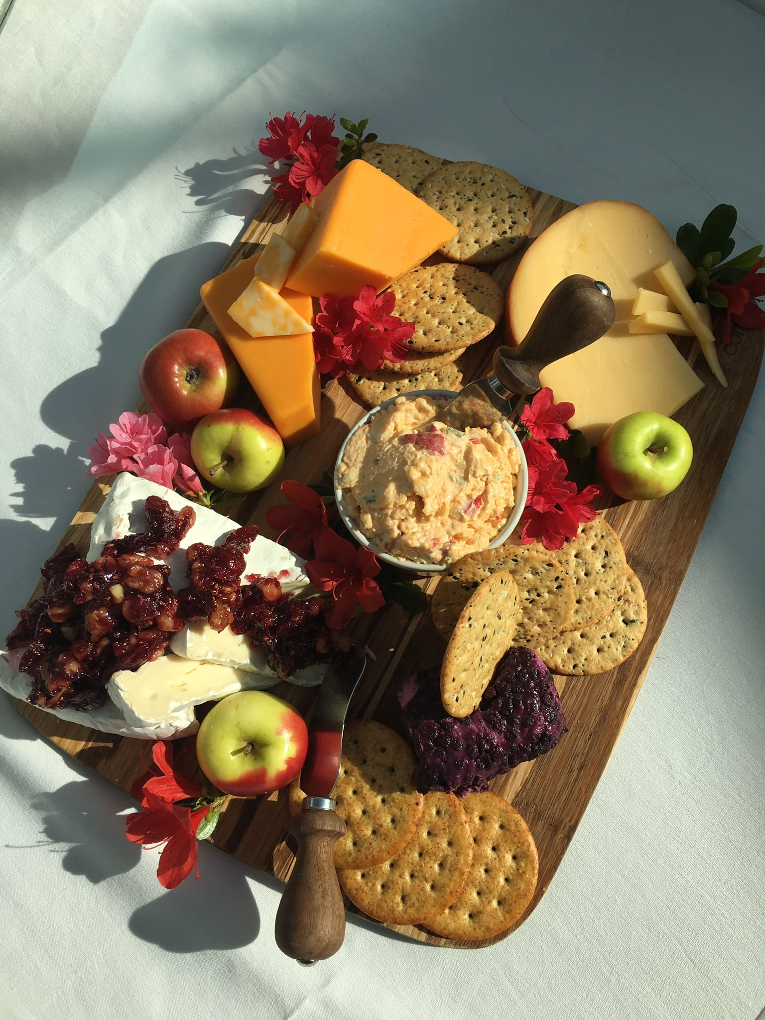 Cheese Boards with Crackers