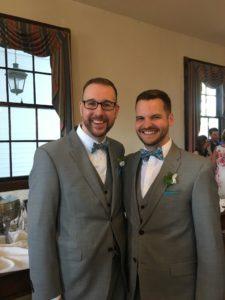 Matt and Scott